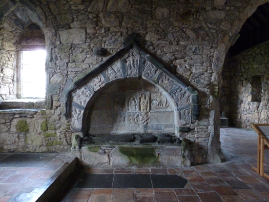 The historic Macleod tomb in St Clement's Photo: W M Nixon