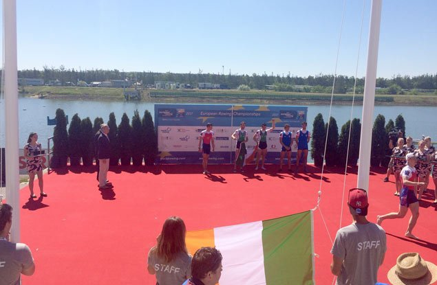rowing medal ceremony