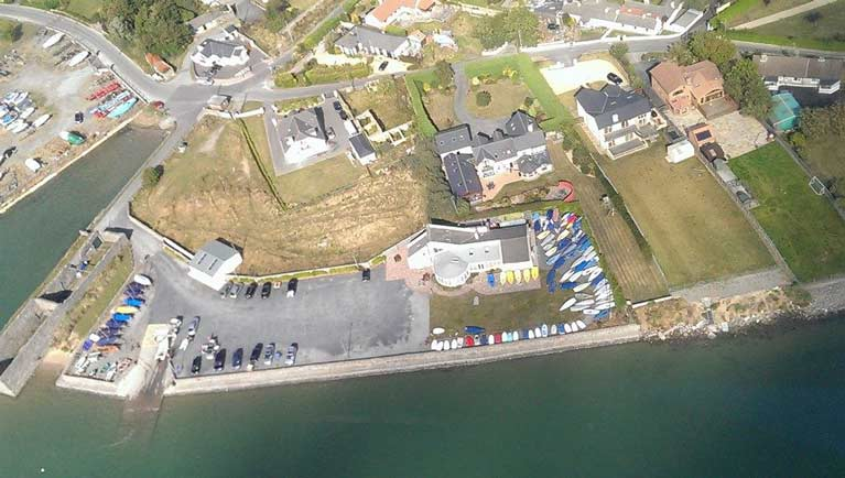 rush Sailing club aerial3