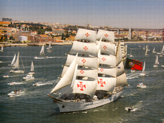 Portugal's famous tall ship Sagres