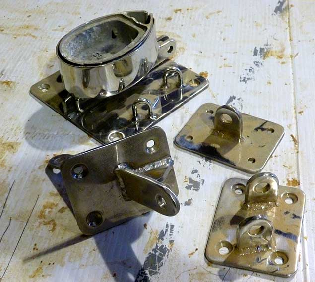 stainless steel yacht fittings 24