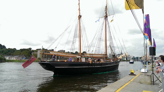 tall ship drogheda
