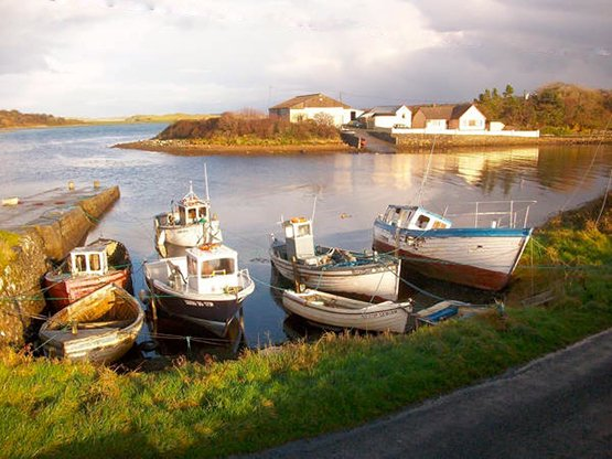 Milk Harbour in North Sligo