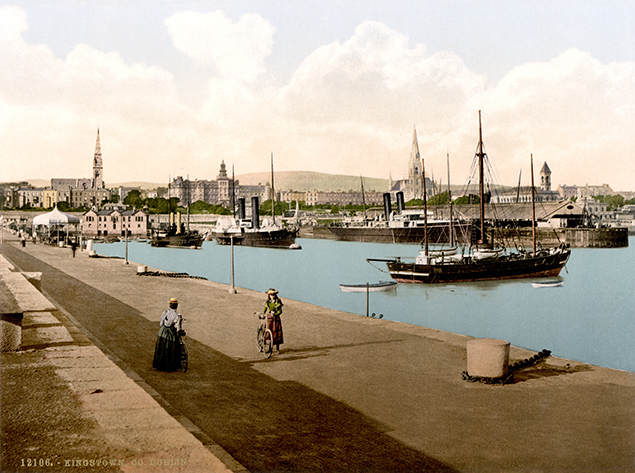 dun laoghaire harbour victorian times