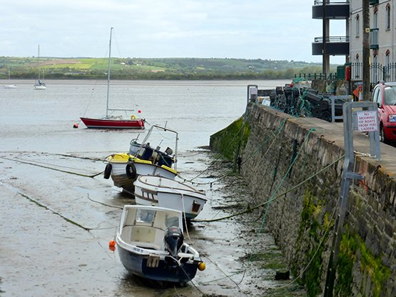 youghal harbour tide out 6