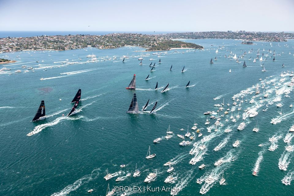 sydney hobart race start 2019