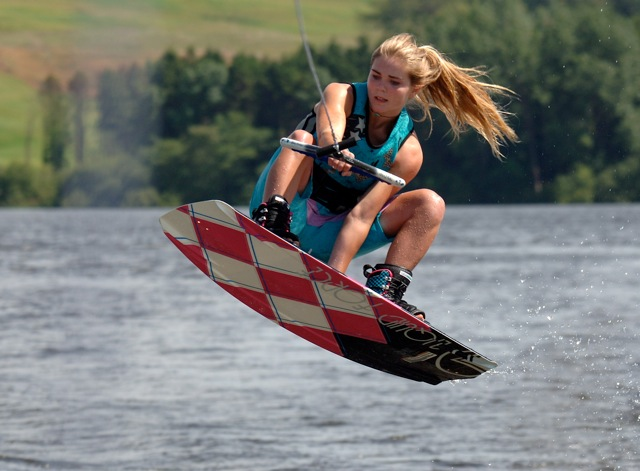 wakeboard girl