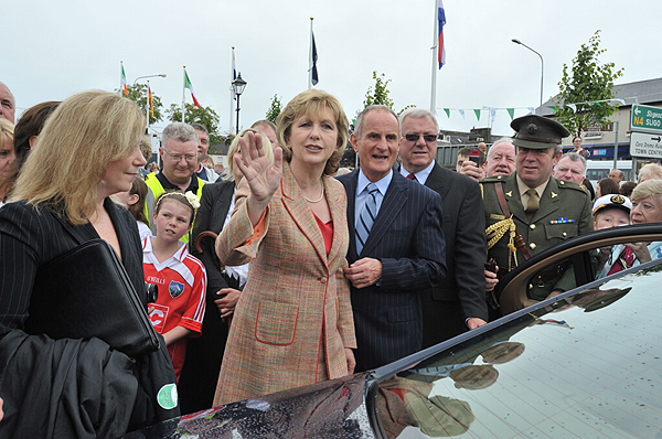 President_McAleese_Departs_50th_Shannon_Boat_Rally