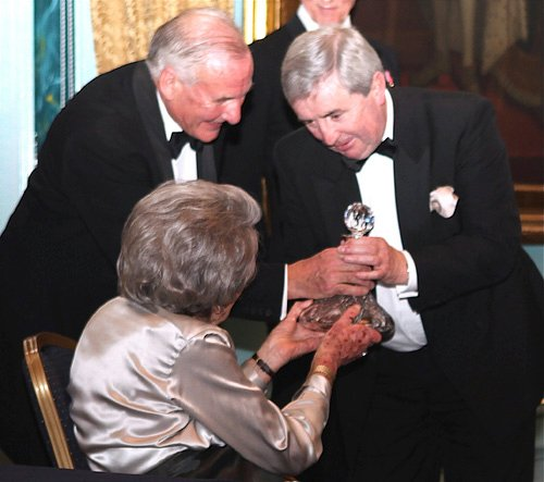 UK_MARITIME_FOUNDATION_PRESIDENT_COUNTESS_MOUNTBATTEN_PRESENTING_UK_MARITIME_FOUNDATION_AWARD_TO_TOM_MACSWEENEY_WITH_SECRETARY_ANTHONY_HARVEY_ALSO_IN_PHOTO