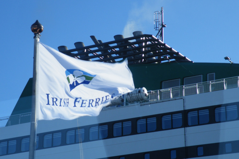 A number of Irish listed companies, including Irish Ferries owner, Irish Continental Group (ICG), were expected to get a lift when the stock market opens today.