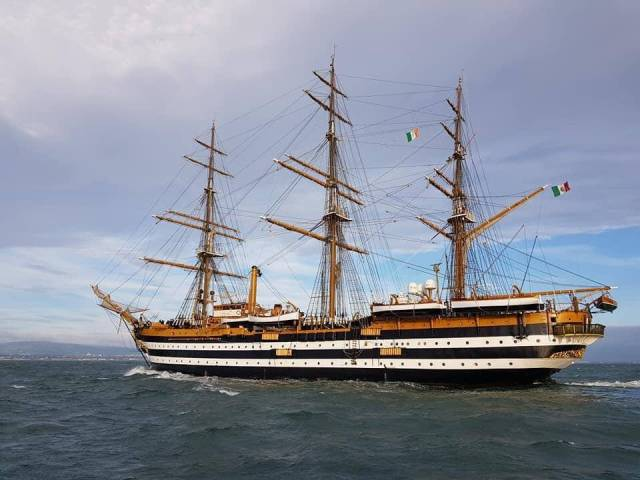 'Most Beautiful Ship' In the World Visited Dublin Port