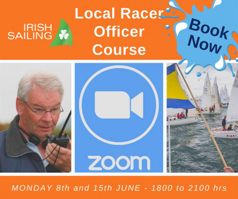 Irish Sailing's Local Race Officer Course Goes Online