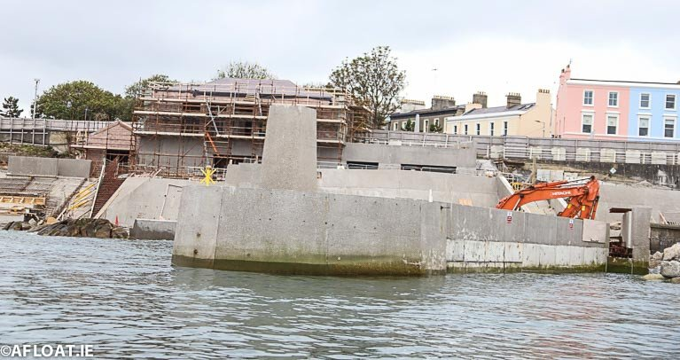 Latest Photos Show Dun Laoghaire Baths Project Taking Shape