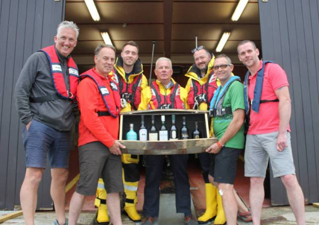 Sailors Do A 'Whiskey Run' For Portrush & Islay Lifeboats