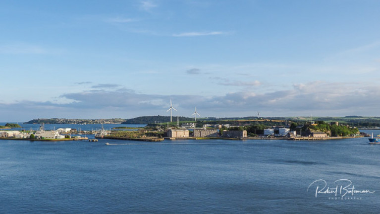 Haulbowline Naval Base is in line for an upgrade of its Spencer Jetty in Cork Harbour