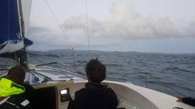 Imerys Rounds Muckle Flugga at Record Pace at Round Britain & Ireland Race