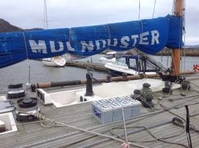 The current condition of Moonduster. See more pictures in the slideshow below