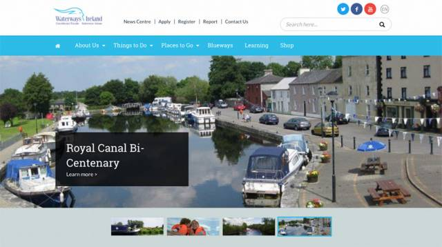 Waterways Ireland Rolls Out Online Booking & Payment Enhancements
