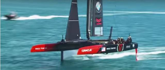 Orcale Team USA – The sailors the team is utilising the aerodynamic know-how of Airbus to help achieve optimum performance on the water. See Video below