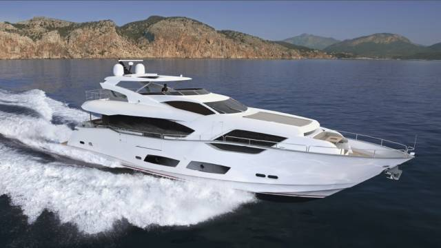 The Sunseeker 95 will be unveiled in Cannes next month
