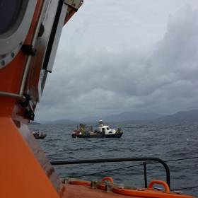 Valentia RNLI and Ballinskelligs CRBI go to the aid of the 10m fishing vessel