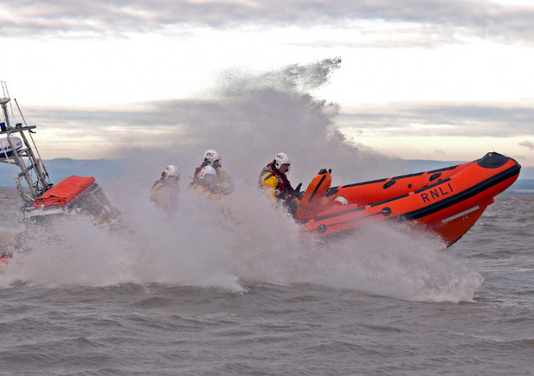 File image of Lough Ree RNLI's inshore lifeboat