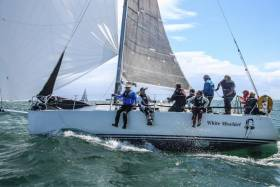 Tim Goodbody's White Mischief is one of four Dublin J109s competing at the ICRA Nationals at Royal Cork Yacht Club