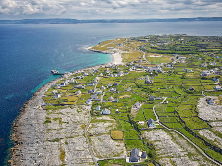 A survey conducted by the co-op on the Aran island of Inis Óirr (above) last week indicated that 92 per cent of residents and businesses oppose re-opening for the remainder of the summer due to fears over the spread of Covid-19