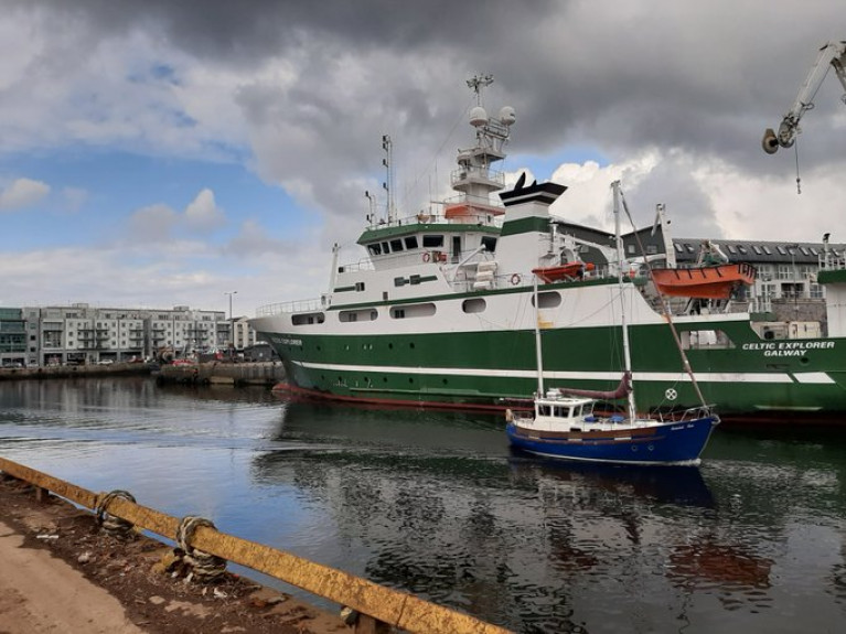 After 24 days in the Nordic and Greenland Seas to investigate past climate change in the Arctic region, scientist and crew on the RV Celtic Explorer returned yesterday (Afloat adds from Bergen, Norway) to the Port of Galway.