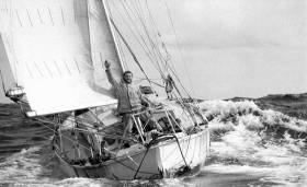 Fifty years ago – Sir Robin Knox-Johnston and his yacht, Suhaili