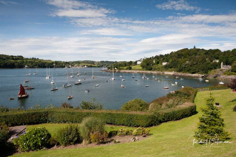 Glandore Harbour in West Cork where July's Classic Boat Regatta has been cancelled