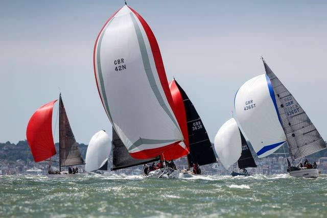 IRC rated boats of all sizes and configurations race in the GBR Championships