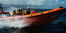 Red Bay RNLI located the missing walkers