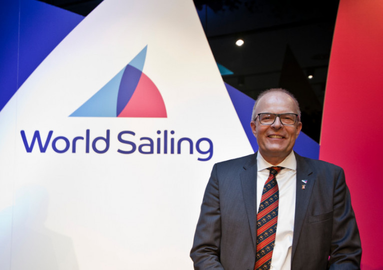 President Kim Andersen issued a statement on behalf of the World Sailing board