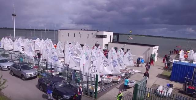 120 young sailors competed on the Broadmeadow Water at Malahide. See vid below.