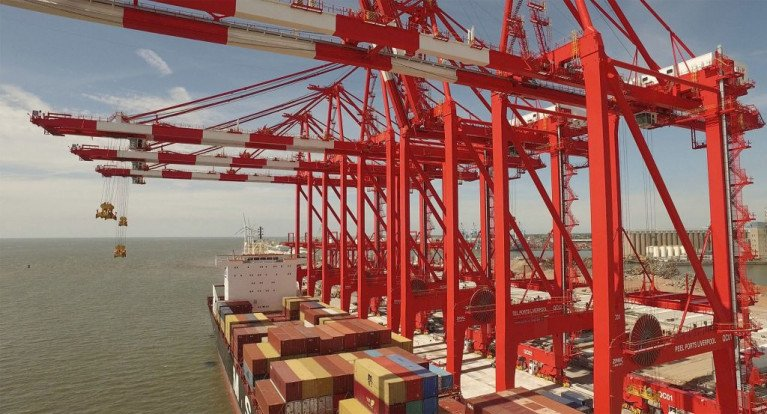 Record Broken Twice For Highest Container Volume from Single Ship at Port of Liverpool