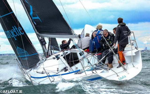 Mata, the new Howth Yacht Club Half Tonner campaign has won class two of the ICRA National Championships on Dublin Bay