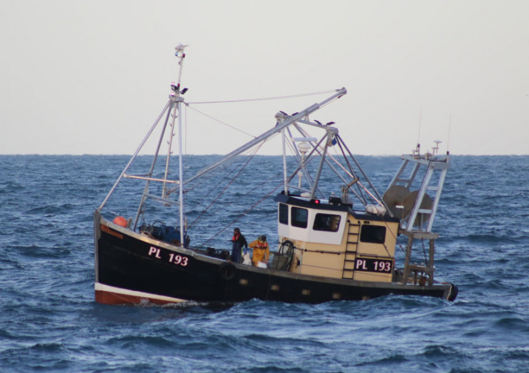 The fishing vessel Polaris, which suffered hull failure off the west coast of the Isle of Man last November