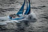 Vestas 11th Hour Racing off Cape Horn yesterday before dismasting in the South Atlantic this afternoon