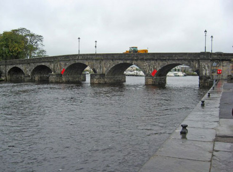 File image of the bridge in Carrick-on-Shannon