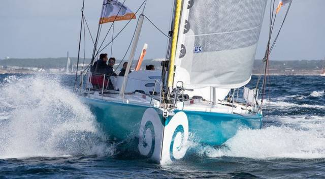 Conrad Colman's IMOCA 60 is using SolarCoth Systems solar panels laminated into his UK Sailmakers Titanium mainsail