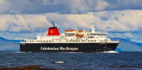 MV Caledonian Isles, one of two ferries on the Arran route to trial a new booking system that should improve travelling experience for passengers with mobility problems.