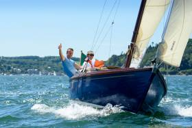 Classic sailing at Crosshaven. See more photos below