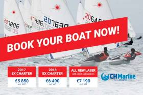 Laser Master Worlds – Great Event Deals on New & Ex Charter Lasers