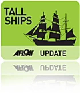 Dublin to Welcome Tall Ships into the Bay in August 2012