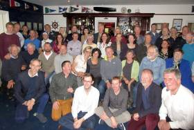 Tim Corcoran's surprise farewell party at Sligo Yacht Club