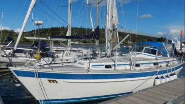 Malo 36 for sale from Crosshaven Boatyard