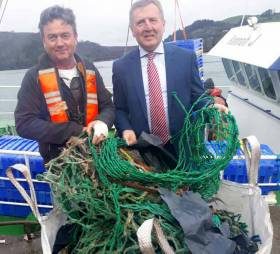 Target for 100% of Irish Trawlers to Recover Plastic Waste from the Oceans on Every Fishing Trip