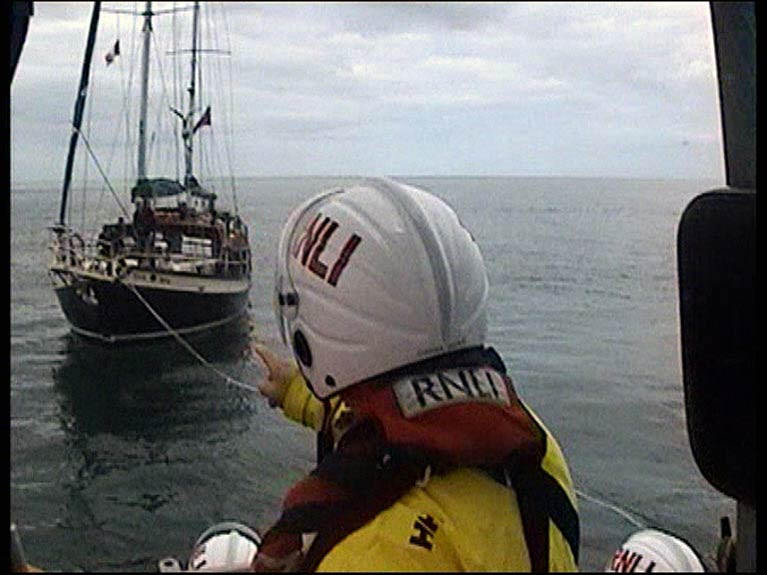 Wicklow RNLI Launch to Assist Yacht with Mechanical Problems