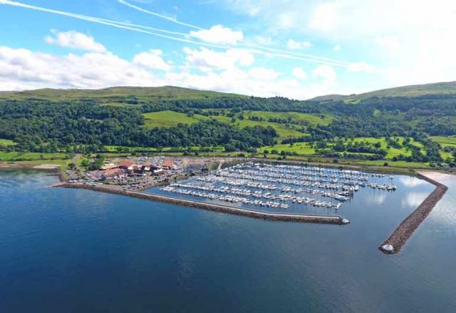 Largs Yacht Haven Wins Fourth Yacht Harbour Award